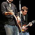 Mac and Mark on mandolin