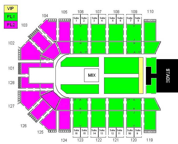 Seating chart MAD